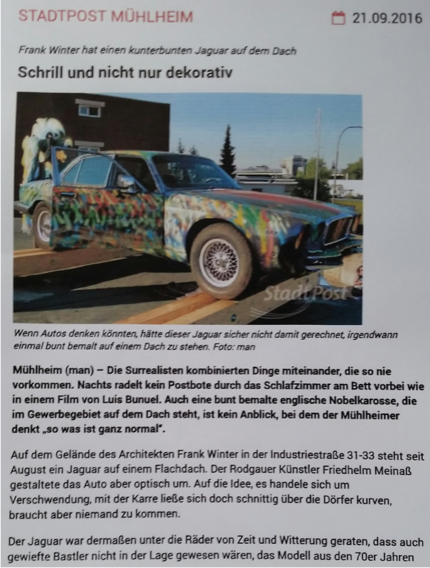 Kunst - Auto - Jaguar 03