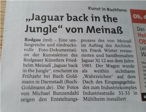 Bildband zum Jaguar