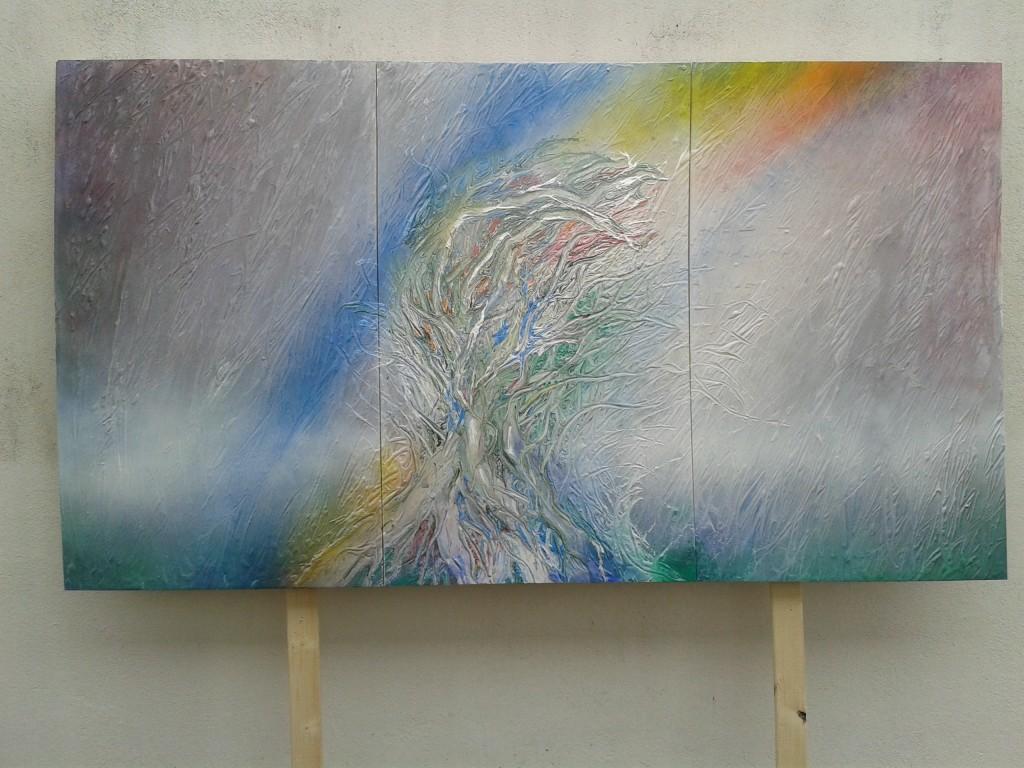 Maler Friedhelm Meinaß: Ein Werk entsteht Bild 5