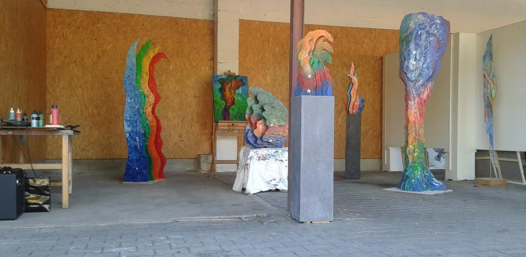 Sculptures bei SteinleArt anlässlich der Kulturtage 2015