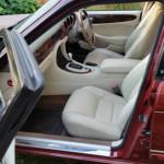 Kunst am Auto: Ein Jaguar XJ wird zum Kunstwerk