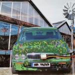 Kunstprojekt Jaguar: Kunstausstellung Menschwerk2016